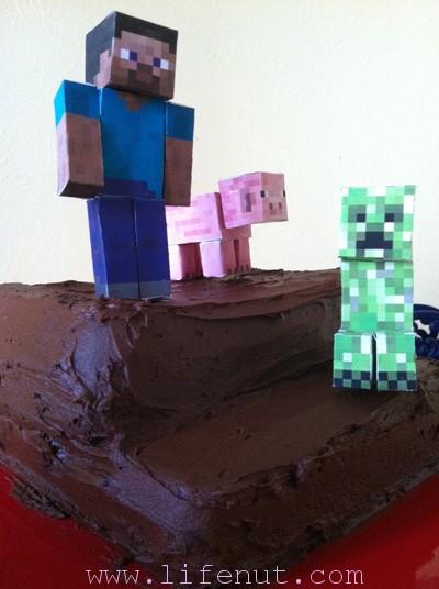 How to Build a Minecraft Birthday Cake Lifenut