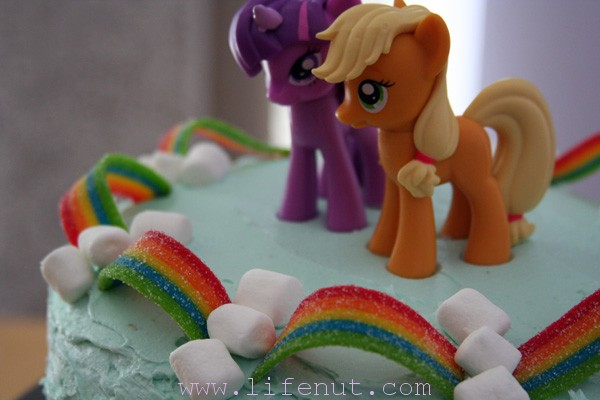 How To Make A Cute And Easy My Little Pony Cake Lifenut