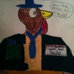I bet his name is Turkey Lurkey