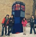doctor who yarn bomb arvada