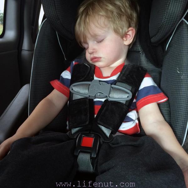 Next time, he drives, I sleep.