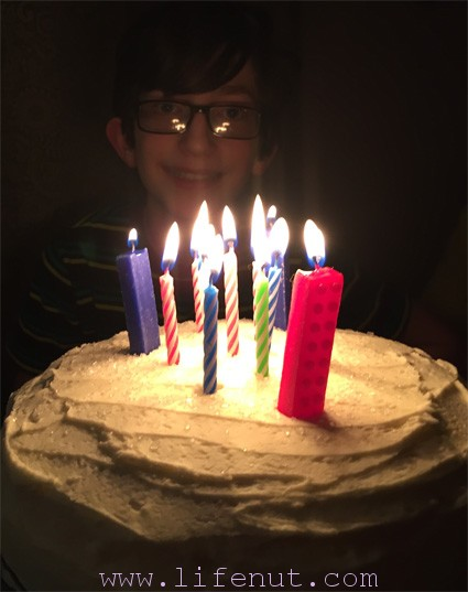Tommy turned 13 on December 16th! He is a great kid and we are so proud of him.