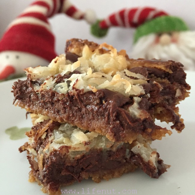 Magic Bars! A childhood favorite my mom made every year. I had to make some, too.