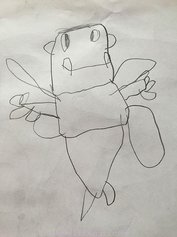 by Teddy, age 4